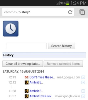 view-browsing-history-android