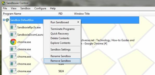 remove-sandbox