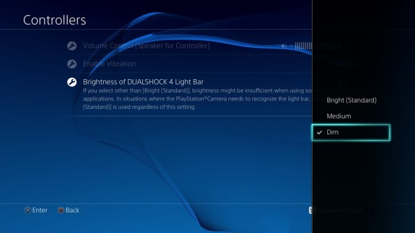 decrease-ps4-dualshock-4-controller-light-bar-brightness