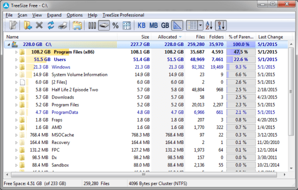 TreeSize-shows-which-Files-and-Folders-are-Taking-up-Hard-Drive-space