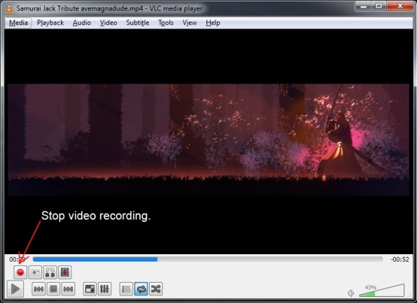 stop-recording-vlc-media-player