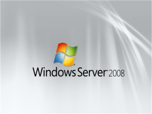 Windows Server 2008 1