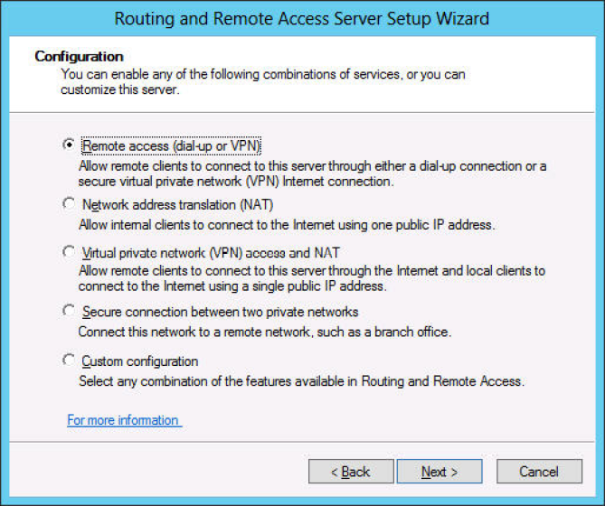 Deploying a DHCP relay agent
