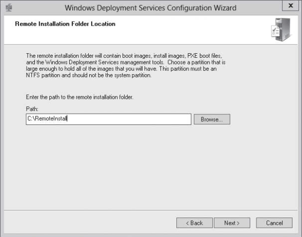 PERFORMING INITIAL CONFIGURATION OF WDS