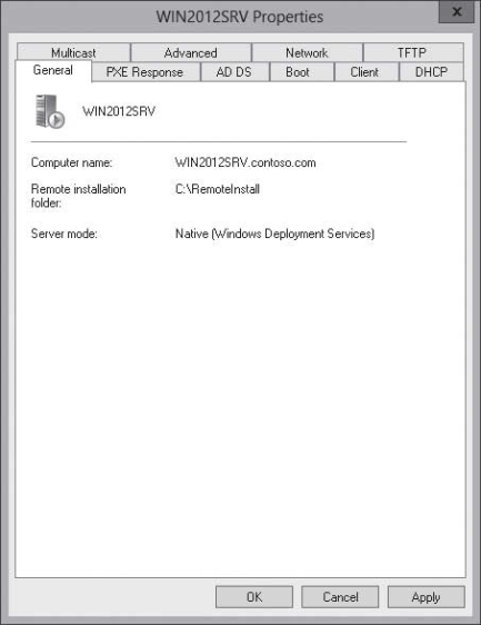 CONFIGURING THE WDS PROPERTIES