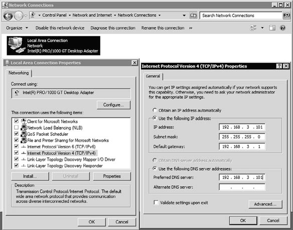 Configuring IP Address Settings 2