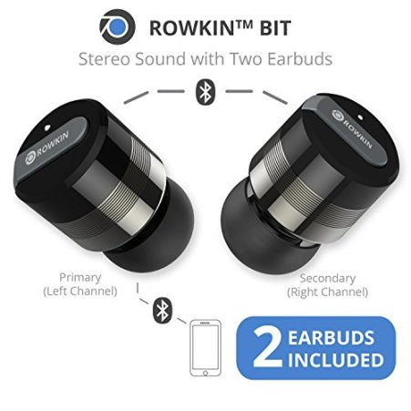Rowkin Bit Charge Wireless Earbuds