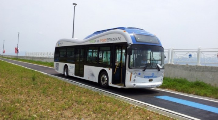 south korea electric vehicle olev