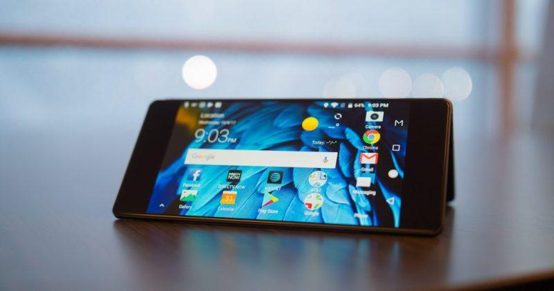 ZTE Axon M Folding screen mobile