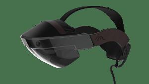 Meta 2 headset web visual