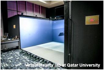 CAVE Virtual Reality lab at Qatar University