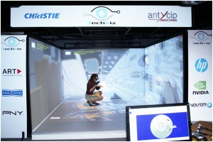 TechViz CAVE virtual reality