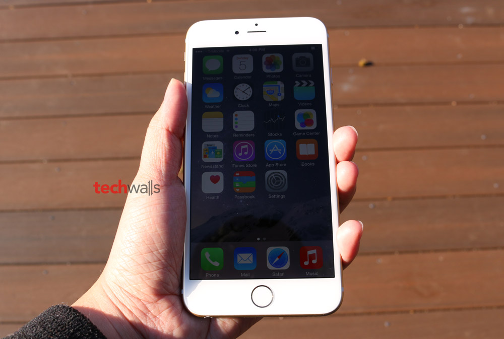 IPhone 6 Plus Gold T Mobile Review The First Apples Phablet