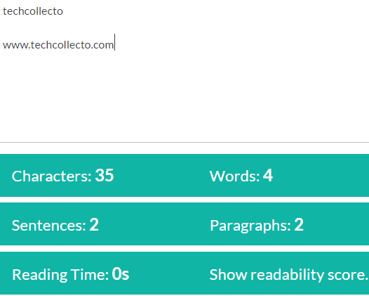 reading time calculator
