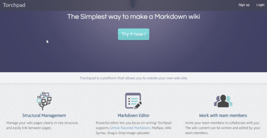 Collaboratively Create Wiki Pages With Markdown Formatting