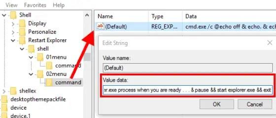 fill value of default string value