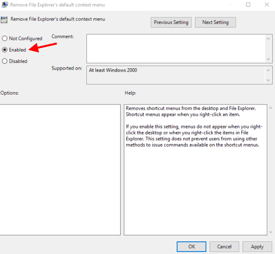 How To Enable or Disable All Right Click Context Menus In