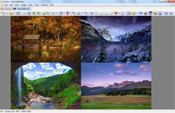 XnView software to view HEIC images