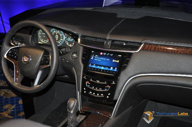 TechwareLabs Cadillac s CUE system previewed at CES 2012