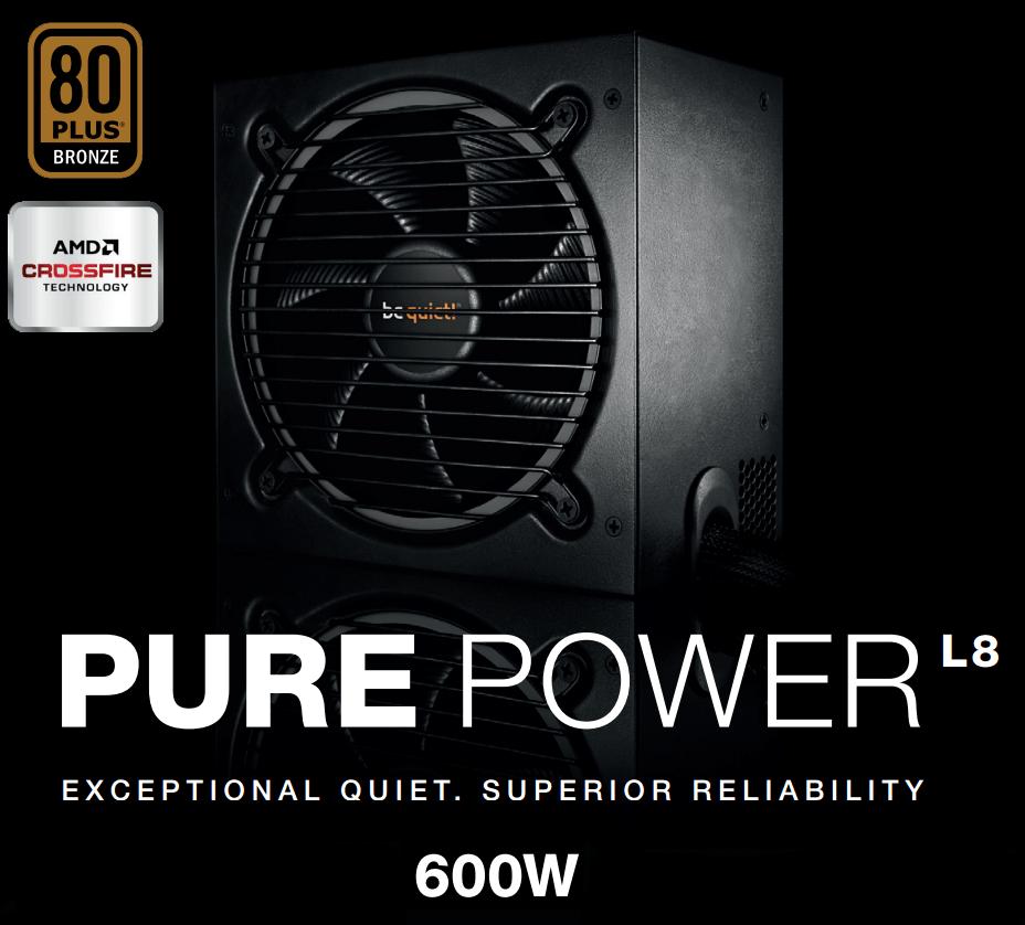 techwarelabs be quiet purepower 600w power supply review techwarelabs