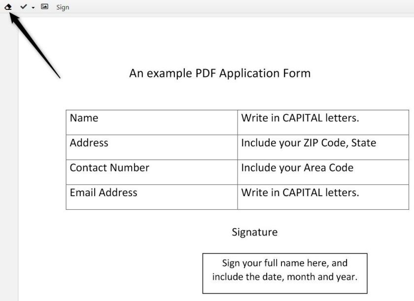 How to make text in PDF & white with DocHub