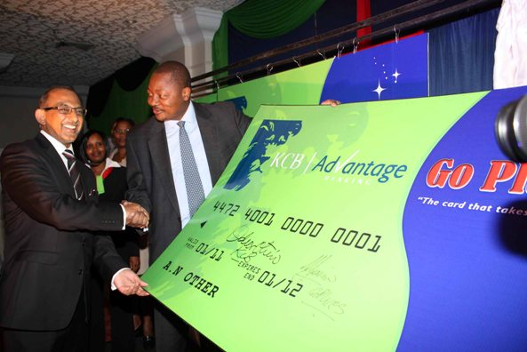 KCB Go places card