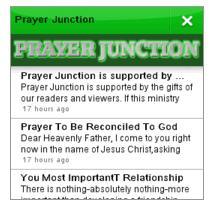 prayer junction app