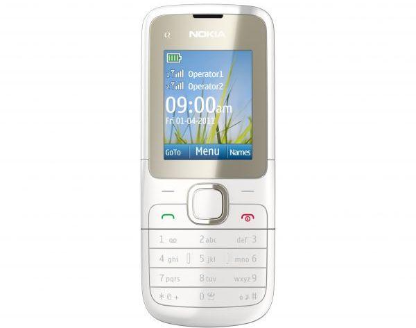 Nokia C2-00 dual sim phone