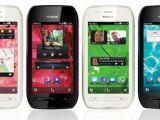 Nokia 603 multiple colours