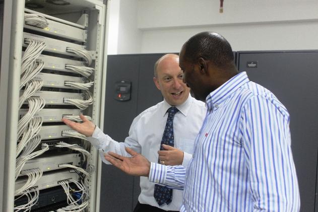 Jonathan Somen and Peter Ndirangu