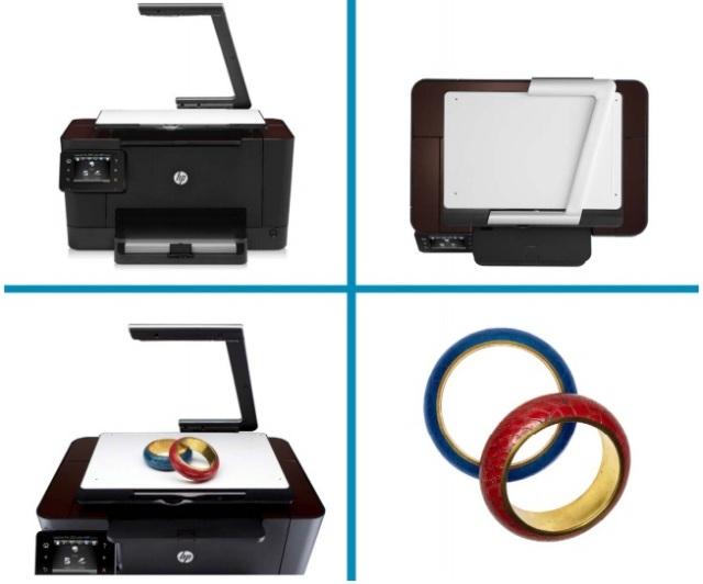 HP Topshot laserjet Pro M725