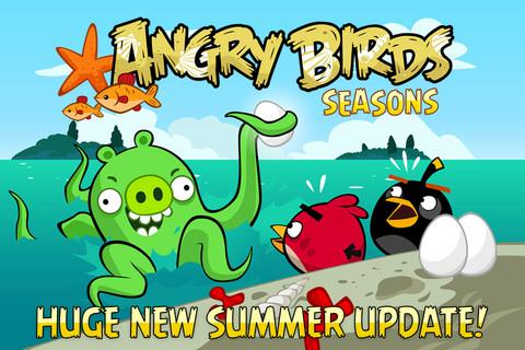Angry Birds Seasons Free iPhone