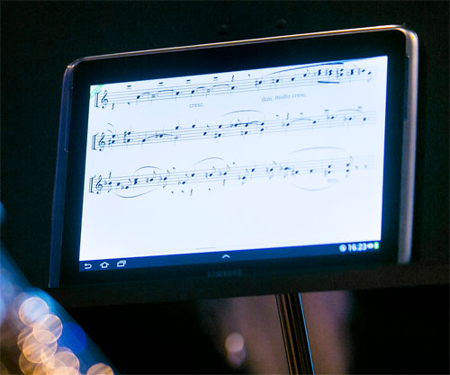 Galaxy Note 10.1 for music