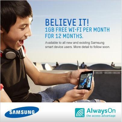 AlwaysOn Samsung