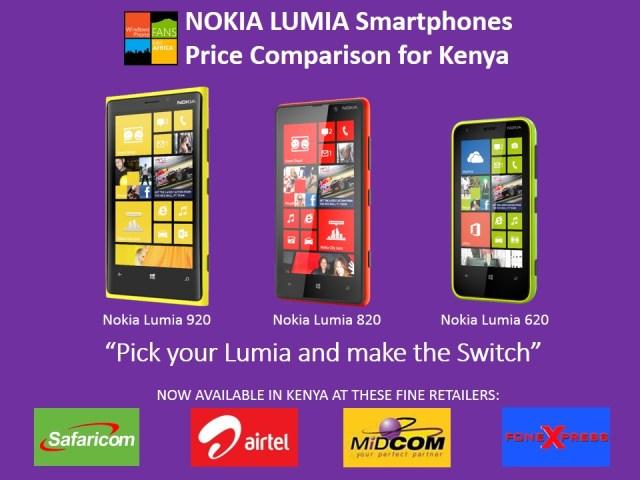 Nokia Lumia deals in Kenya