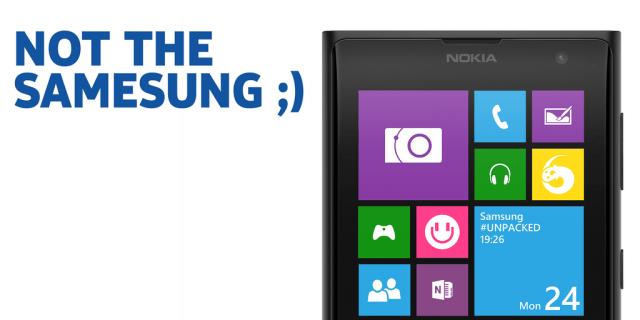 Nokia trolls Galaxy S5