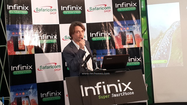 Jean Sebastien Coste, Business Director at Infinix Mobility