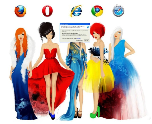 Web browsers as Women