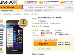 Jumia Blackberry