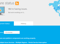 Microsoft Azure outage