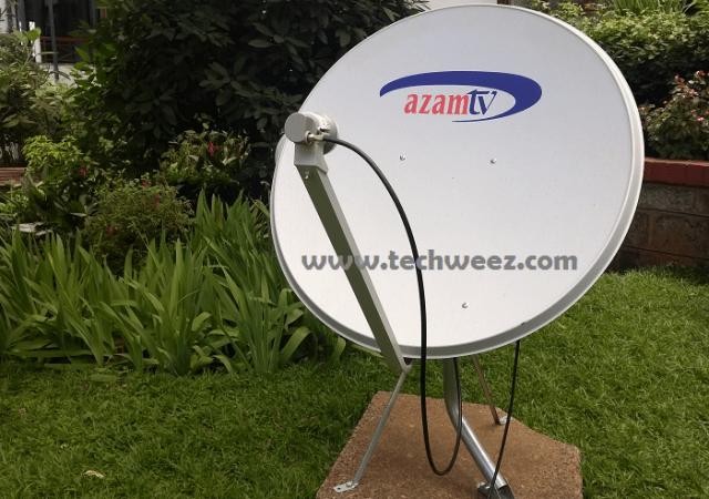 Azam TV Dish