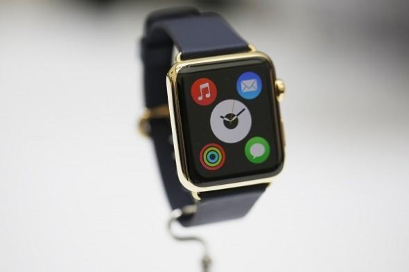Gold Apple Watch