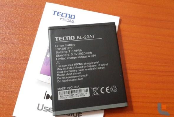 Tecno Boom J7 002 Techweez - Battery