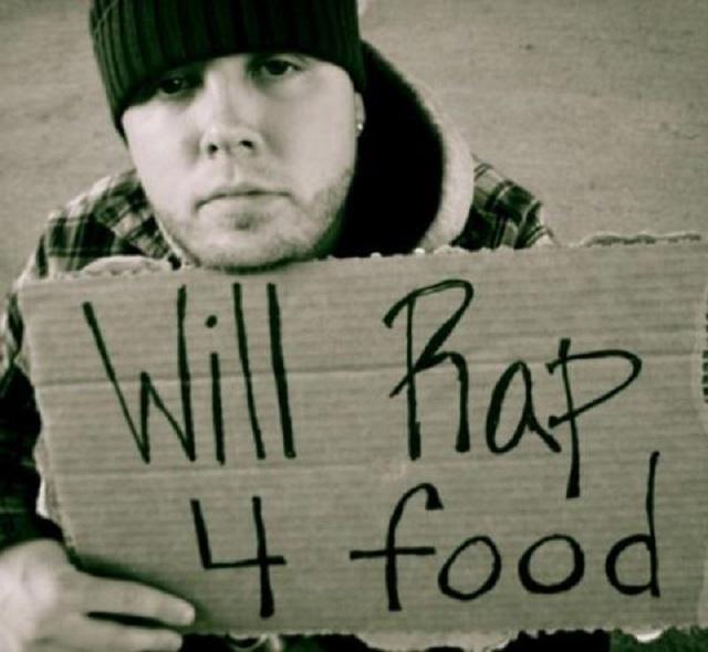 struggling rapper