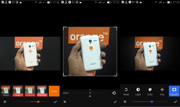google photos review - photo editing