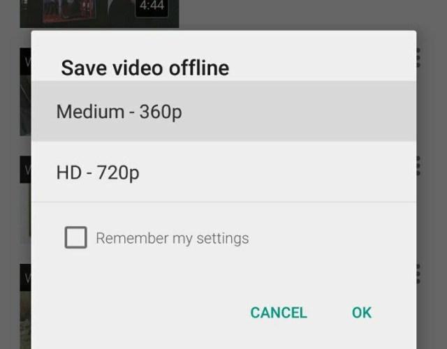 offline video youtube