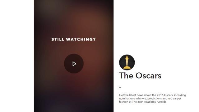 Snapchat Oscars