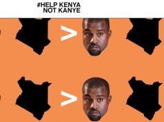 help kenya but not kanye