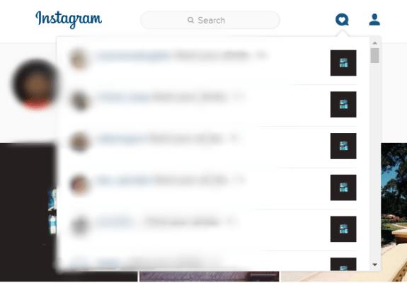 instagram notifications