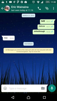whatsapp encryption 1